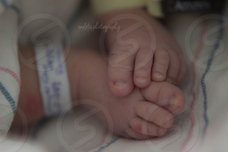 Baby newborn feet little toes child love cute sweet Baby Family birth photo