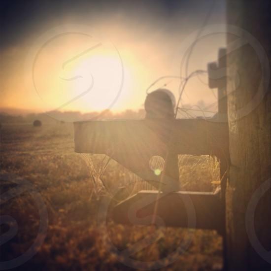 English rural sunrise photo