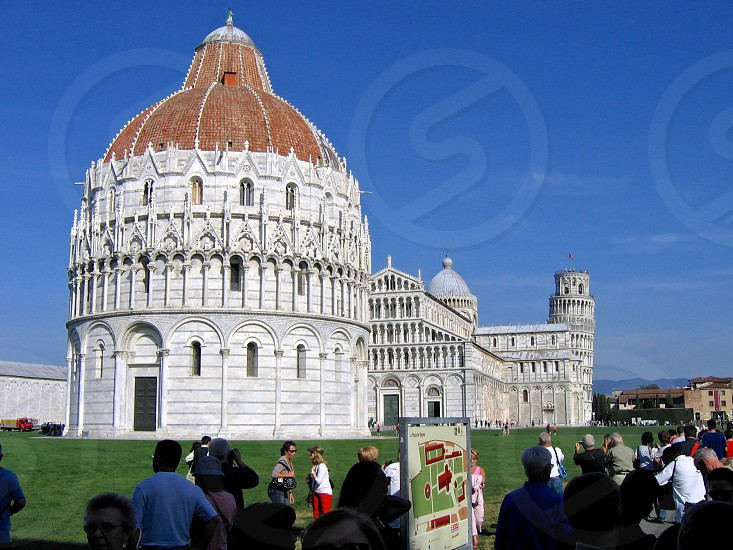 Pisa Italy Leaning Tower Europe photo