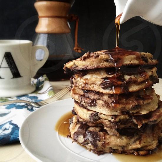 brown pancake photo