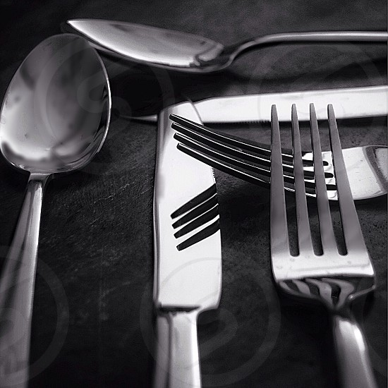 Knife Fork & Spoon  photo