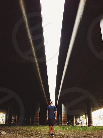 Under the freeway  photo