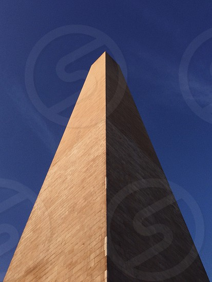 brown cement tower photo