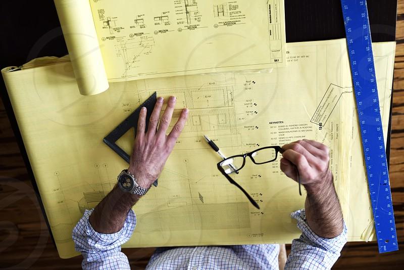 craftsman architect designer create photo