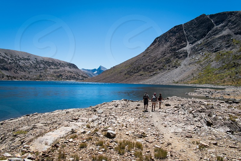 Exploring the lakes photo