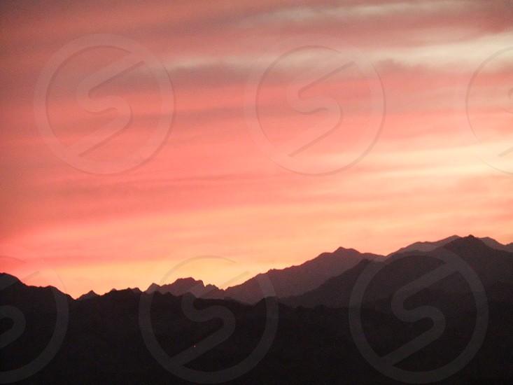 Sunset from Dahab Sinai photo