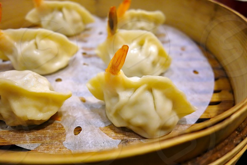 Chinese steamed dumpling photo