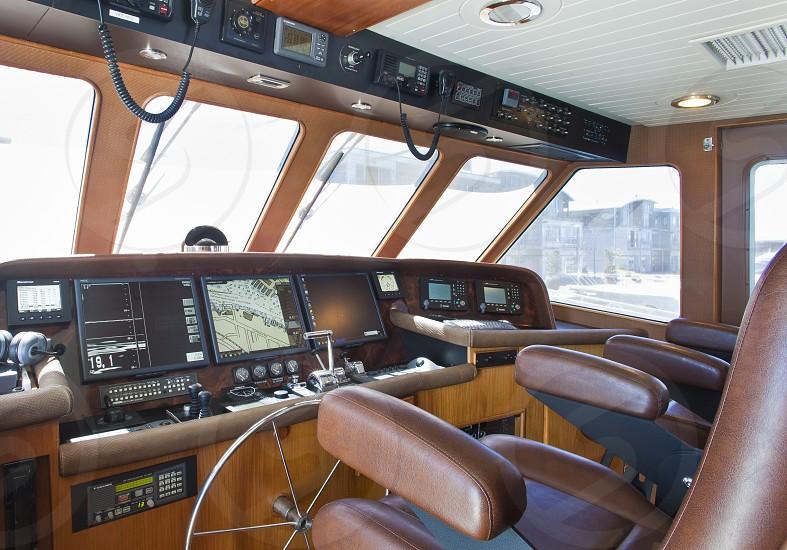 Yacht sailing Dan King Images magazine shoot luxury rich money  delta Seattle  Washington  trawler boat   photo
