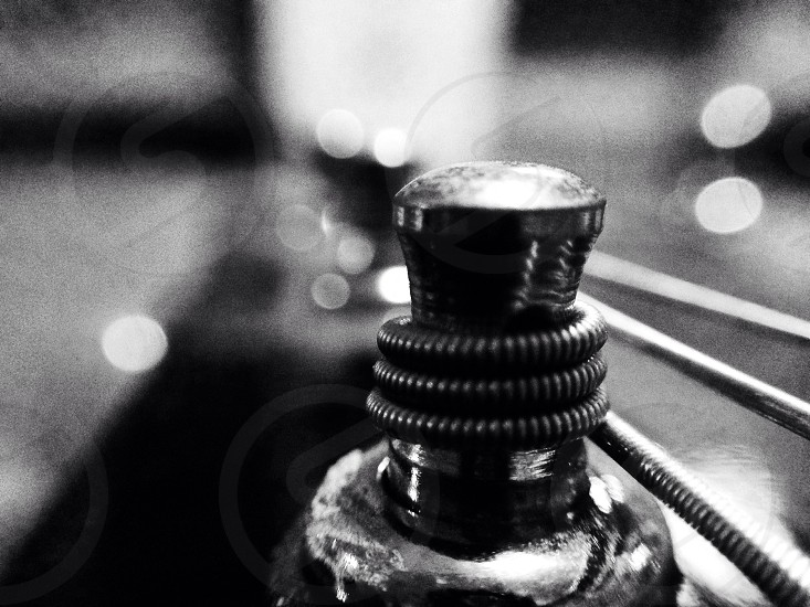 guitar tuning pegs photo