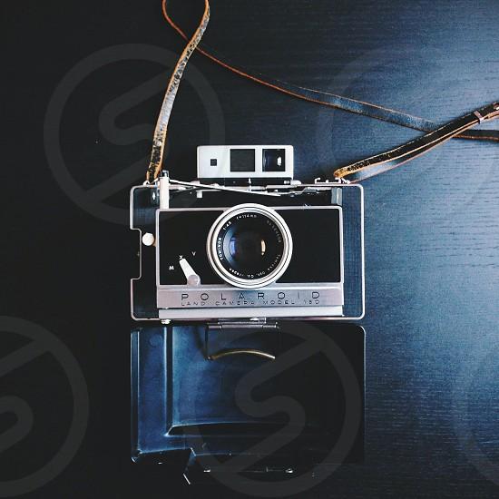 Vintage Polaroid. photo