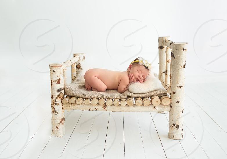 newborn baby girl photo