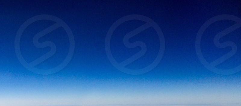 clear blue skies photo