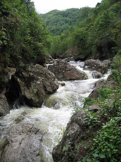 stream somewhere in Vietnam photo