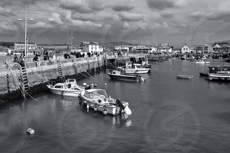 West Bay Harbour in Dorset photo
