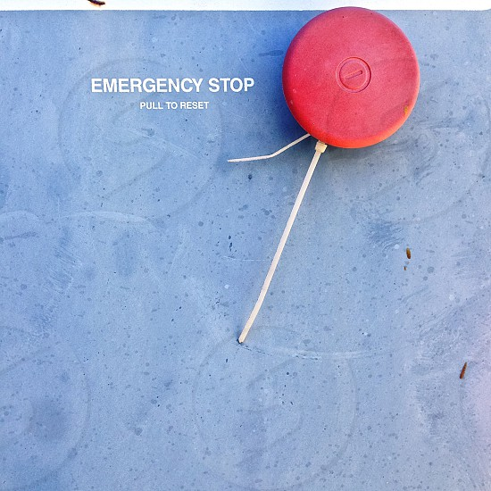 emergency stop pull to reset photo