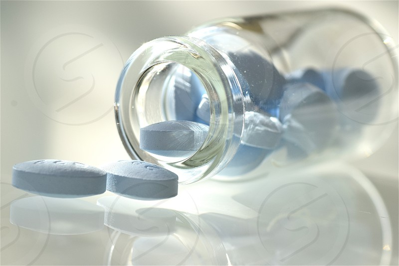 blue oval pills photo