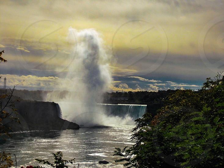 Waterfall nature natural Canada outdoors Mother Nature incredible sights travel adventure explore Niagara Falls water photo