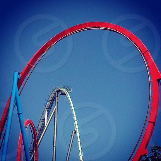 Port Aventura Tarragona Spain  #themepark #rollercoaster photo