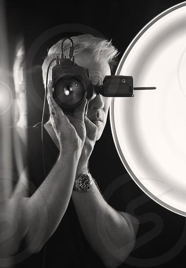 Self Portrait in Mirror photo
