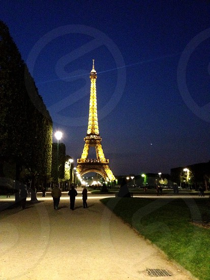 Eiffel tower London photo