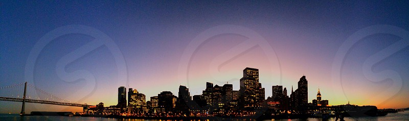 view of city skyline photo