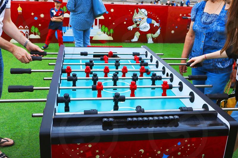 Table soccer photo