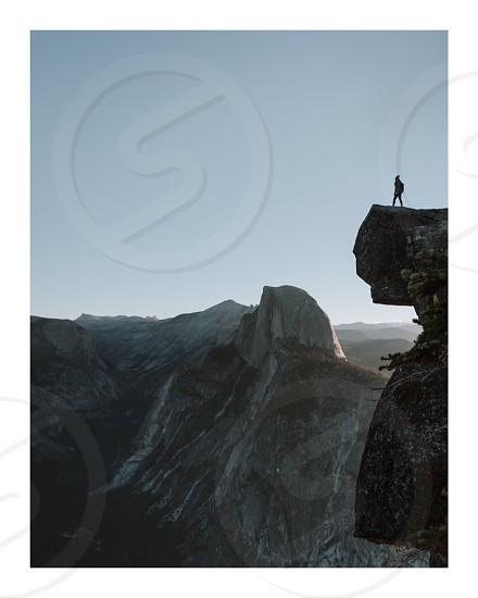 Yosemite; Half Dome; California; National Park photo