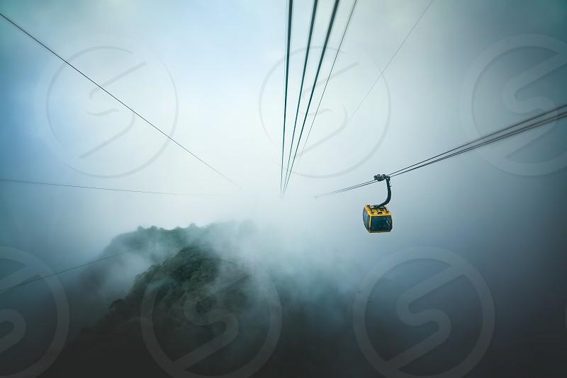 Fansipan Legend cable car. photo