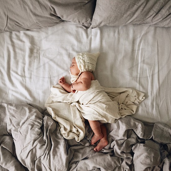 Baby Baby Girl Child Sleeping Baby Adorable Sweet Cute Beautiful Wonderful Happiness By Maria Rotar Photo Stock Snapwire