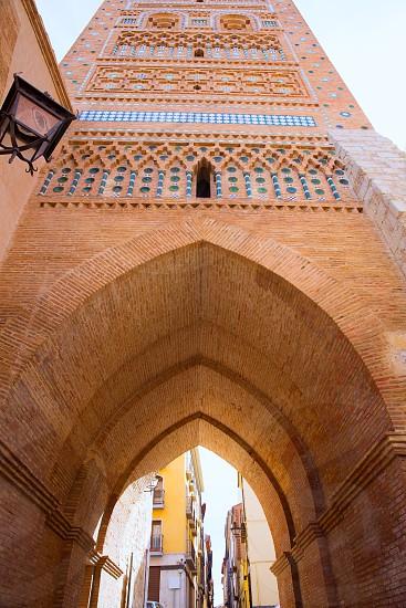 Aragon Teruel Torre de San Martin Mudejar UNESCO heritage in Spain photo