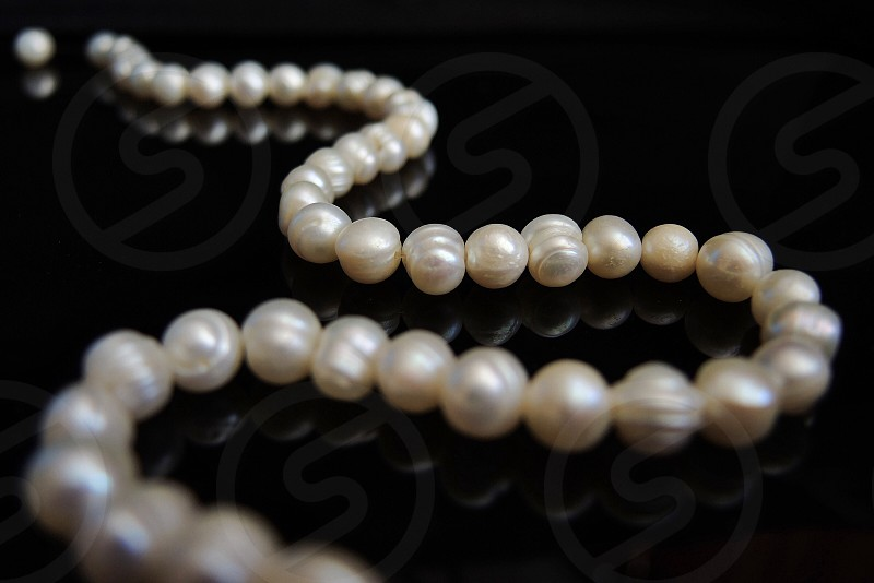 strand of pearls photo