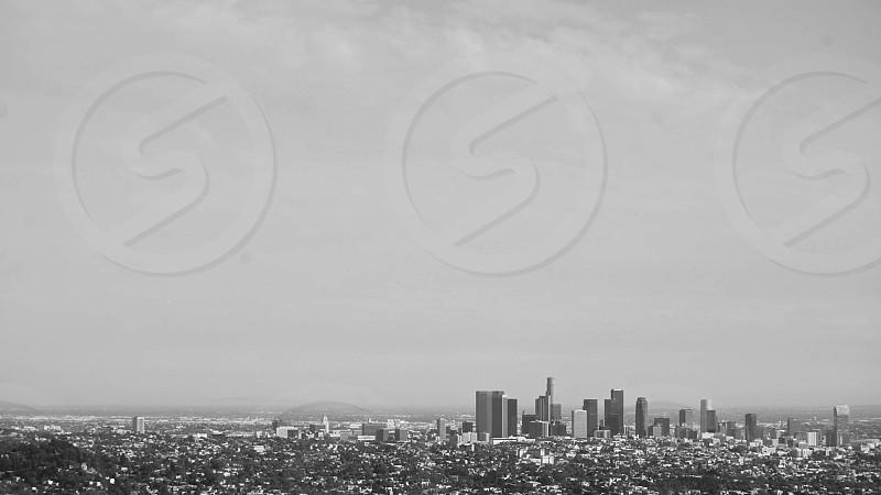black and white city photograph photo