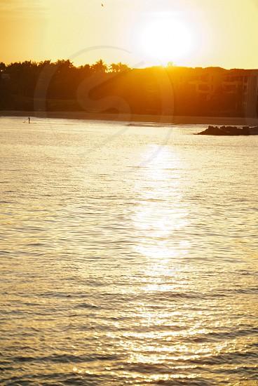 Sunset SUP photo