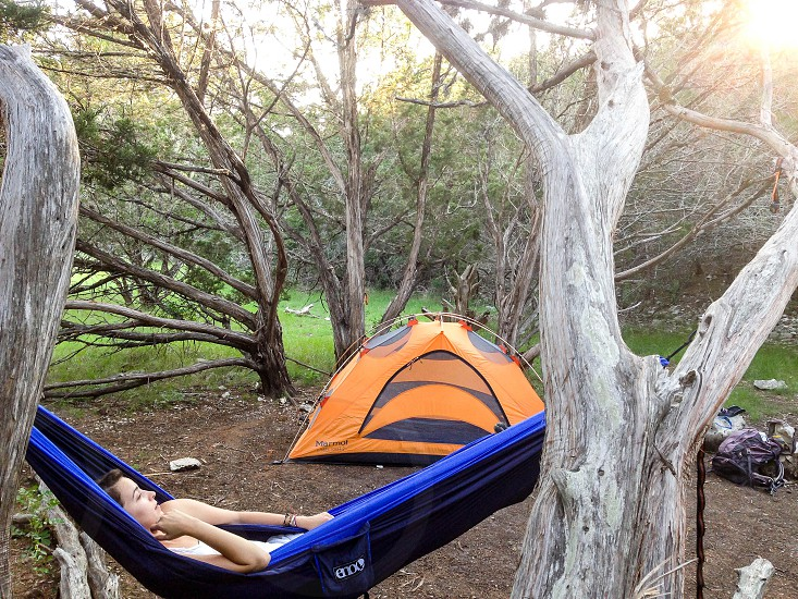 Camping done right photo