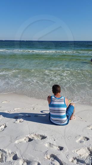 Beach time at Elgin Beach FL photo