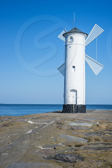 Stawa mlyny landmark of Kolobrzeg Poland Baltic Sea photo