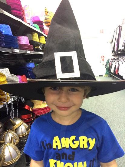 black witch hat photo