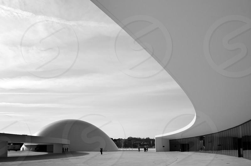 Niemeyer center architecture photo