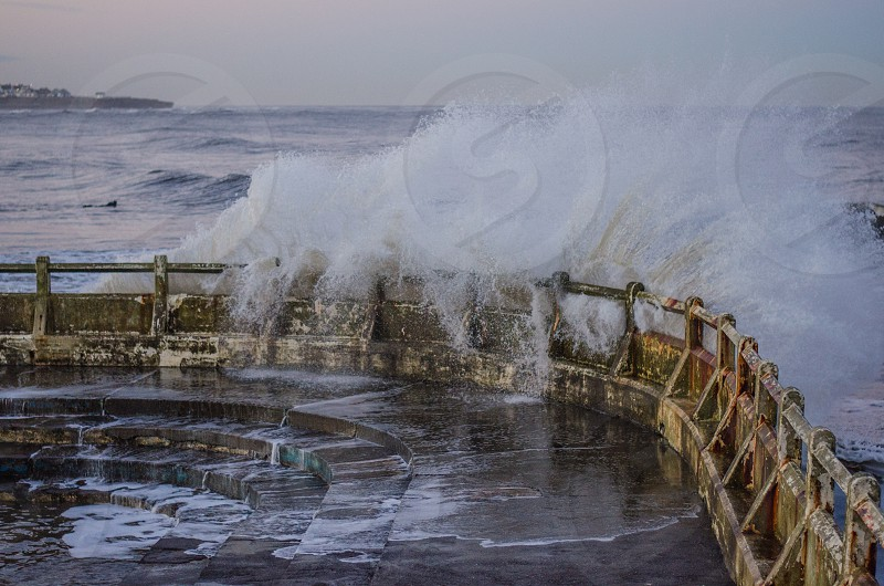 Waves at Tynemouth Longsands photo