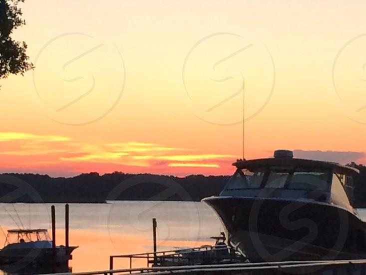 Hilton head island sunset photo