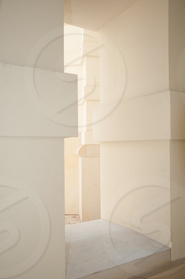 white painted wall photo