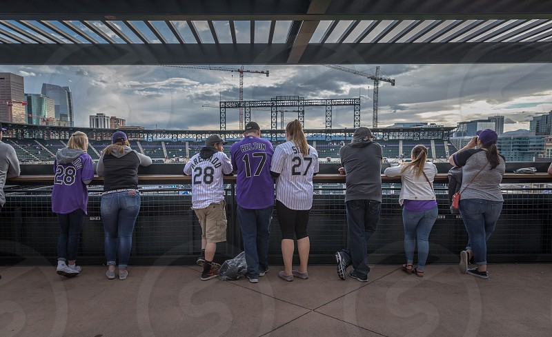 Impressions around the Coors Field stadium of Denver photo