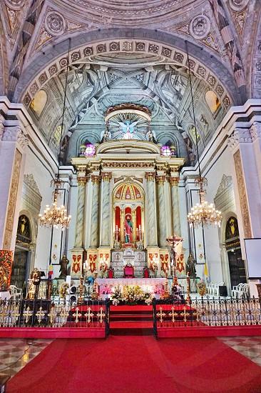 San Agustin Church in Manila Philippines photo