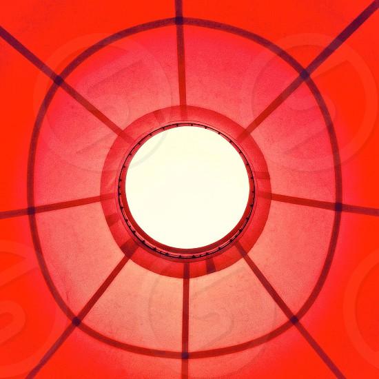 Red abstract circle  photo