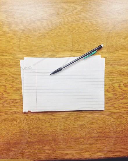 black click pen photo
