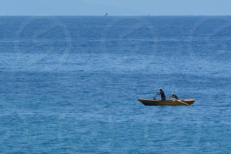 Boats Ocean photo