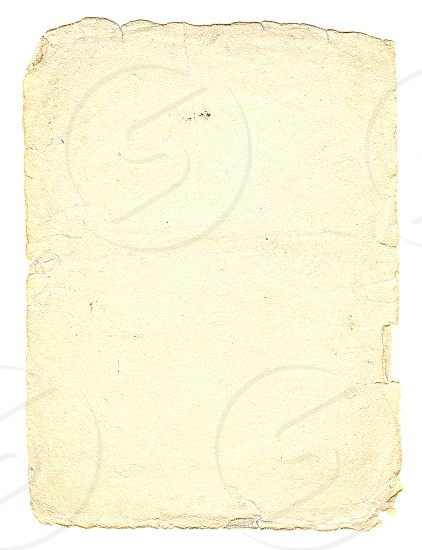 Vintage paper with space for text soft-vanilla color vertical orient. photo
