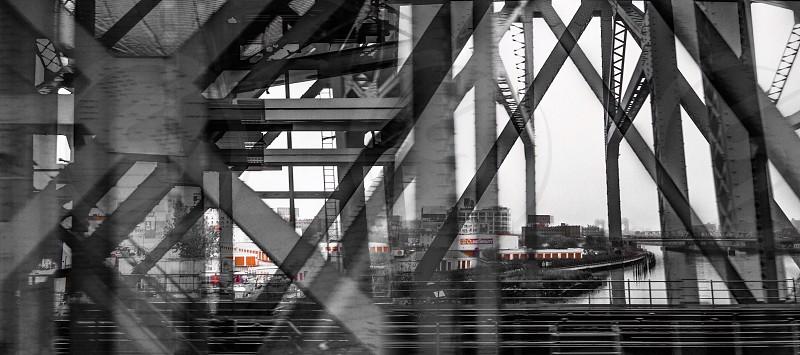 grey bridge braces photo