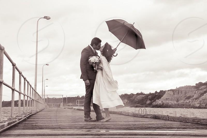 Wedding Photography: Black Rock Pier photo