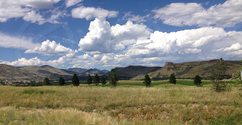 Colorado skies photo